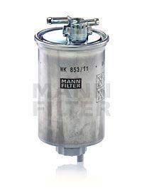 Kraftstofffilter MANN-FILTER WK853/11 Erfahrung