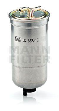 MANN-FILTER  WK 853/16 Filtro combustible Altura: 176mm