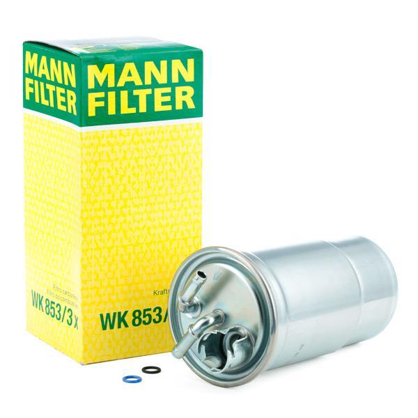 Kraftstofffilter MANN-FILTER WK853/3x Erfahrung