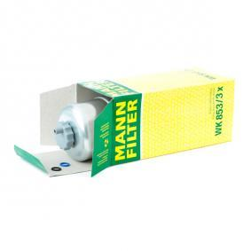 MANN-FILTER WK853/3x EAN:4011558936303 Online Store
