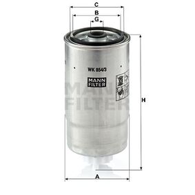 Kraftstofffilter Art. Nr. WK 854/3 120,00€