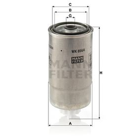 Kraftstofffilter Art. Nr. WK 854/4 120,00€