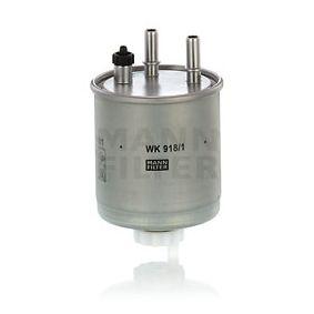 Kraftstofffilter Höhe: 123mm mit OEM-Nummer 16 40 039 78R