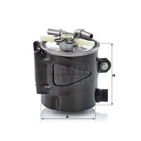 Fuel filter Height: 97mm with OEM Number 77 01 062 436