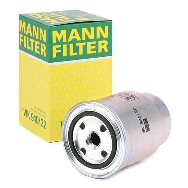 Filtro de Combustible MANN-FILTER WK940/22 conocimiento experto