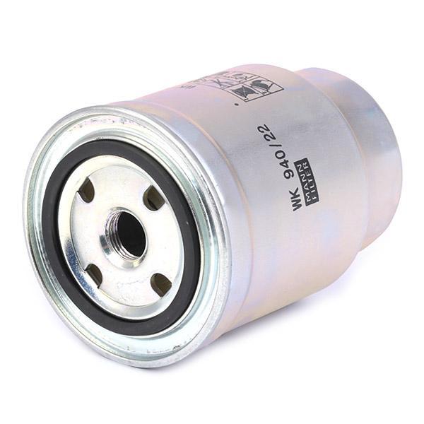 Filtro de Combustible MANN-FILTER WK 940/22 4011558936600