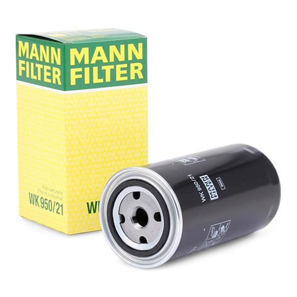 Filtro de Combustible MANN-FILTER WK950/21 conocimiento experto