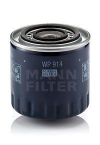 MANN-FILTER  WP 914 Oljefilter Ø: 97mm, Ytterdiameter 2: 72mm, Innerdiameter 2: 62mm, Innerdiameter 2: 62mm, H: 97mm