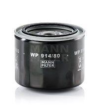 MANN-FILTER  WP 914/80 Ölfilter Ø: 102mm, Außendurchmesser 2: 80mm, Innendurchmesser 2: 72mm, Höhe: 81mm