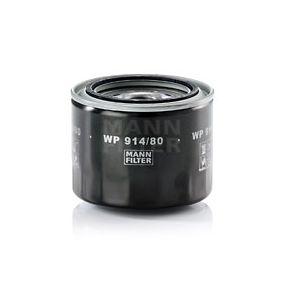 Ölfilter Ø: 102mm, Außendurchmesser 2: 80mm, Innendurchmesser 2: 72mm, Höhe: 81mm mit OEM-Nummer 90915-30001