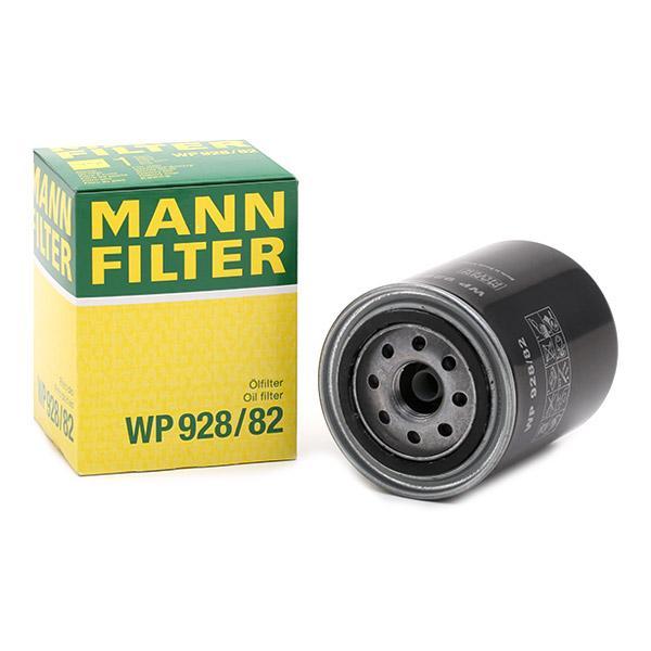 Filtro de aceite de motor MANN-FILTER WP928/82 conocimiento experto