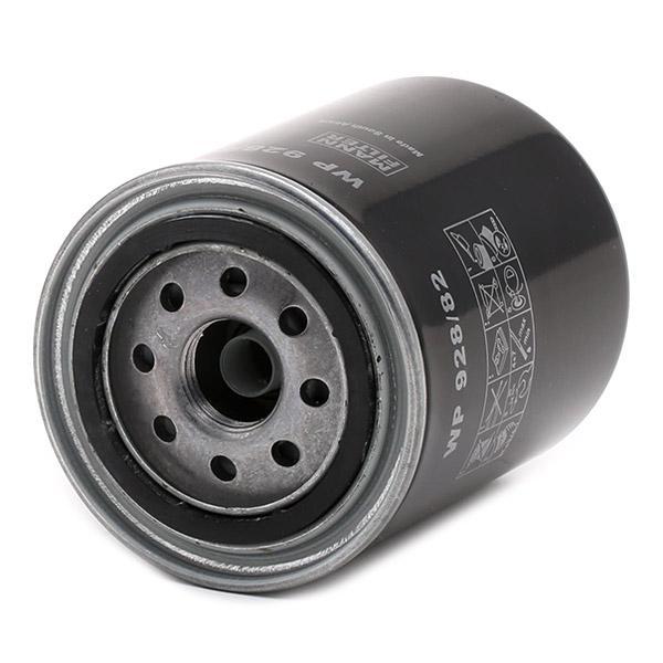 Filtro de aceite de motor MANN-FILTER WP 928/82 4011558959401