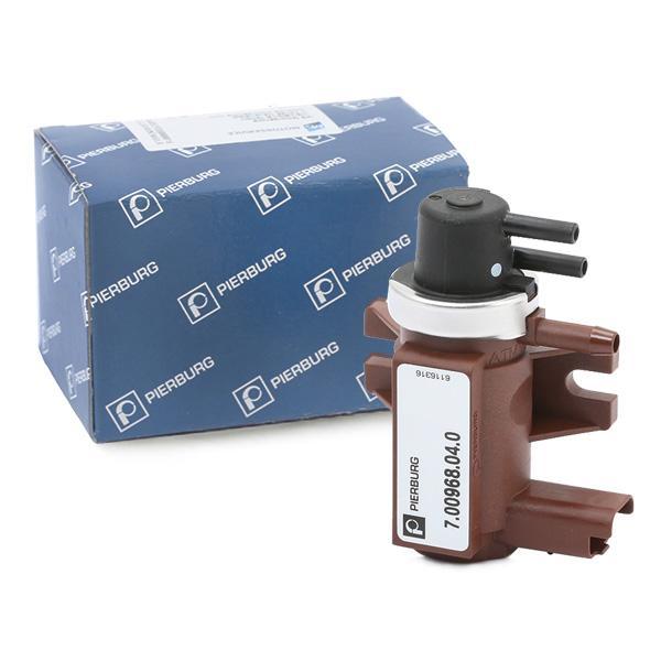 Pressure converter, turbocharger PIERBURG 7.00968.04.0 expert knowledge