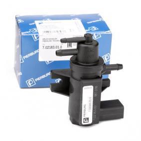 Ladedruckregelventil VW PASSAT Variant (3B6) 1.9 TDI 130 PS ab 11.2000 PIERBURG Druckwandler, Abgassteuerung (7.02183.01.0) für