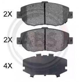 Bremsbelagsatz, Scheibenbremse Breite 1: 144mm, Höhe 1: 63,8mm, Dicke/Stärke 1: 17,1mm mit OEM-Nummer 04465 14081