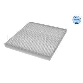 Filter, Innenraumluft Länge: 224mm, Breite: 202,5mm, Höhe: 17mm mit OEM-Nummer 97133-2E210