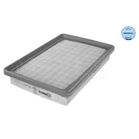 Air Filter Length: 255mm, Width: 174mm, Height: 40,5mm, Length: 255mm with OEM Number 28113-2D000