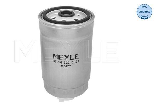 MEYLE  37-14 323 0001 Fuel filter Height: 156,8mm