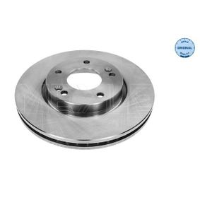 Brake Disc Brake Disc Thickness: 26mm, Num. of holes: 5, Ø: 280mm with OEM Number 51712-1D100
