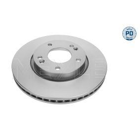 Bremsscheibe Bremsscheibendicke: 26mm, Lochanzahl: 5, Ø: 280mm mit OEM-Nummer 51712-2C000