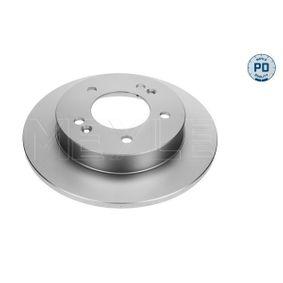 Bremsscheibe Bremsscheibendicke: 10mm, Lochanzahl: 5, Ø: 258mm mit OEM-Nummer 58411 1P300