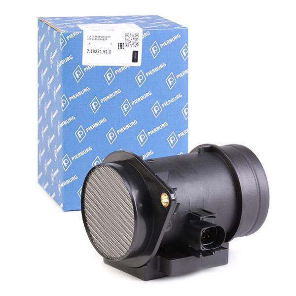 Medidor de massa de ar PIERBURG 7.18221.51.0 conhecimento especializado