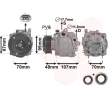 OEM Klimakompressor VAN WEZEL 9651439 für MITSUBISHI