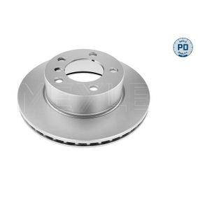Bremsscheibe Bremsscheibendicke: 22mm, Lochanzahl: 5, Ø: 284mm mit OEM-Nummer 3411 6792 215