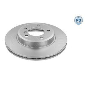 Bremsscheibe Bremsscheibendicke: 22mm, Lochanzahl: 5, Ø: 300mm mit OEM-Nummer 3411 6 855 152
