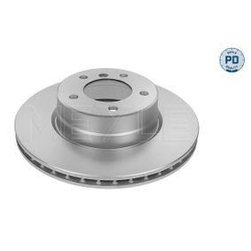 Bremsscheibe Bremsscheibendicke: 24mm, Lochanzahl: 5, Ø: 310mm mit OEM-Nummer 34.11.6.764.021