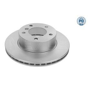 Bremsscheibe Bremsscheibendicke: 22mm, Lochanzahl: 5, Ø: 284mm mit OEM-Nummer 34 11 6 764 629