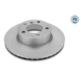 Bremsscheibe Bremsscheibendicke: 24mm, Lochanzahl: 5, Ø: 300mm mit OEM-Nummer 34116772669