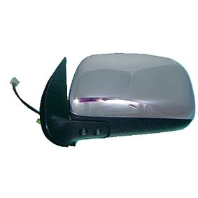 ABAKUS Side view mirror Left, Electric, Convex, Chrome