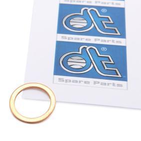 Anello di tenuta, vite di scarico olio Ø: 16mm, Spessore: 1mm, Diametro interno: 12mm con OEM Numero 007603012102