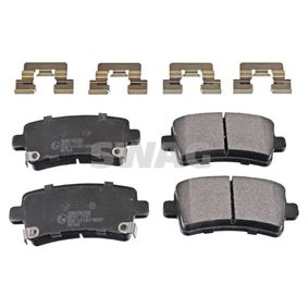 Brake Pad Set, disc brake Width: 47,2mm, Thickness 1: 16,6mm with OEM Number 16 05 319
