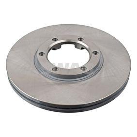 Bremsscheibe Bremsscheibendicke: 22mm, Ø: 257,0mm mit OEM-Nummer 8.94372435.0