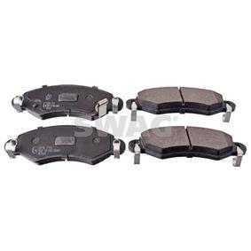 Bremsbelagsatz, Scheibenbremse Breite: 44,4mm, Dicke/Stärke 1: 15mm mit OEM-Nummer 5581084E00000