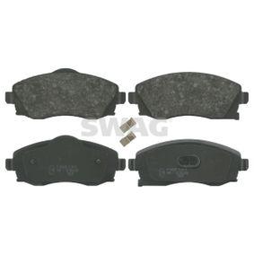 Bremsbelagsatz, Scheibenbremse Breite: 51,5, 55,5mm, Dicke/Stärke 1: 16,8mm mit OEM-Nummer 09 200 108