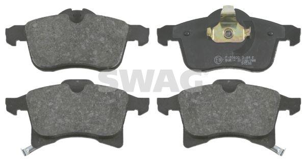 SWAG  40 91 6491 Комплект спирачно феродо, дискови спирачки ширина: 70,6, 76,0мм, дебелина 1: 20,3мм