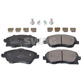 Bremsbelagsatz, Scheibenbremse Breite: 52,8, 55,4mm, Dicke/Stärke 1: 16mm mit OEM-Nummer 1605 092