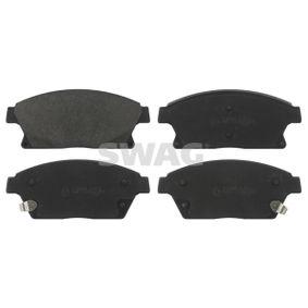 Bremsbelagsatz, Scheibenbremse Breite: 61,2mm, Dicke/Stärke 1: 19mm mit OEM-Nummer 1605263