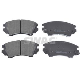 Brake Pad Set, disc brake Width: 66,6mm, Thickness 1: 17,8mm with OEM Number 95514526