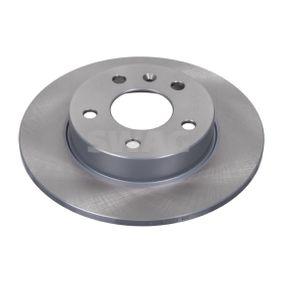 Bremsscheibe Bremsscheibendicke: 10mm, Ø: 264,0mm mit OEM-Nummer 90575113