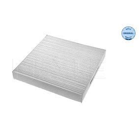 Filter, Innenraumluft Länge: 220mm, Breite: 225mm, Höhe: 36mm mit OEM-Nummer 6447 KR