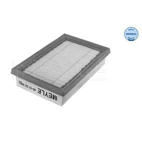 Luftfilter Länge: 178mm, Breite: 118mm, Höhe: 40mm, Länge: 178mm mit OEM-Nummer 1780121060