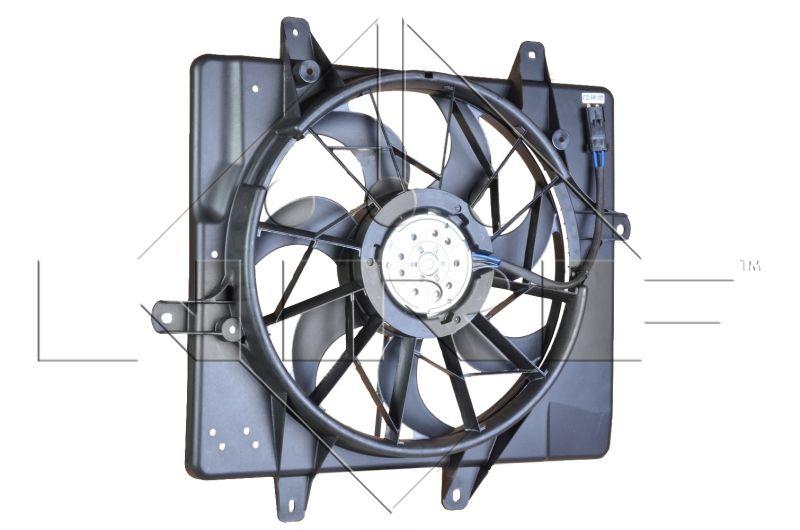 NRF Tuuletin, moottorin jäähdytys