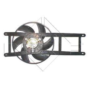 Fan, radiator 47239 PANDA (169) 1.2 MY 2007