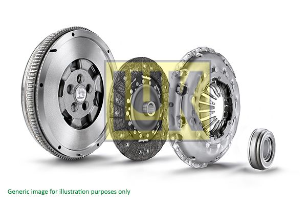 LuK BR 0241 600 0007 00 Clutch Kit Mounting Type: Pre-assembled