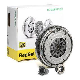 LuK RepSet DMF 600 0012 00 Kupplungssatz Montageart: vormontiert