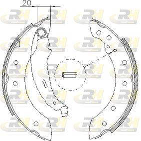 Bremsbackensatz Breite: 39mm mit OEM-Nummer 4241.N9
